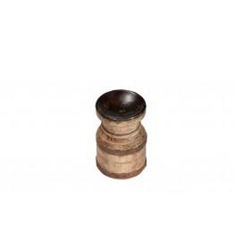 houten kaars houder 3c-52