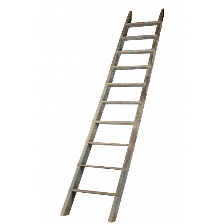 Robuuste Houten Ladder.Houten Ladder