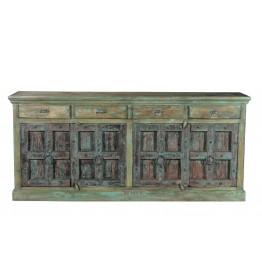 robuuste groen dressoir 4c-6752