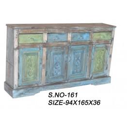 gekleurde brocante dressoir - 14w17z