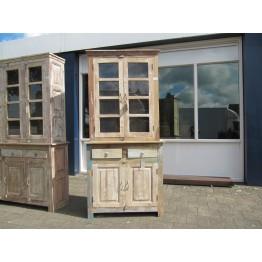 vintage buffetkast met glazen deuren 4c-064