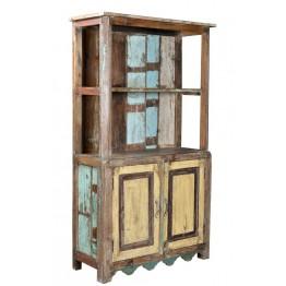 shabby boekenkast met mooie kleuren 4c-6250