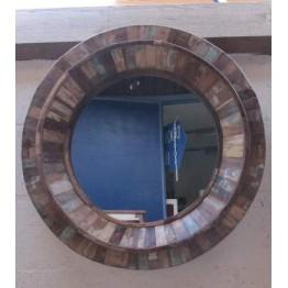 vintage ronde spiegel-14w31a