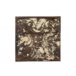 vierkante ijzeren decoratie 3c-196