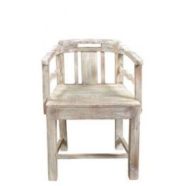 houten stoel met armleuning  5c-158