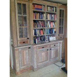 gebouwde-vintage-boekenkast