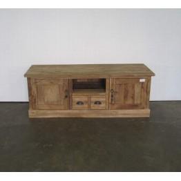 teakhouten rustieke tv meubel - j-tv1a