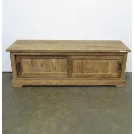 robuust tv meubel teakhout - j-tv28b