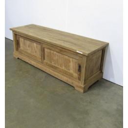 ruwe teakhouten tv meubel - j-tv28d