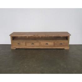 robuust tv meubel teakhout - j-tv65d