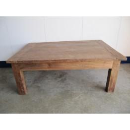 robuuste teakhouten salontafel - sa-fl140