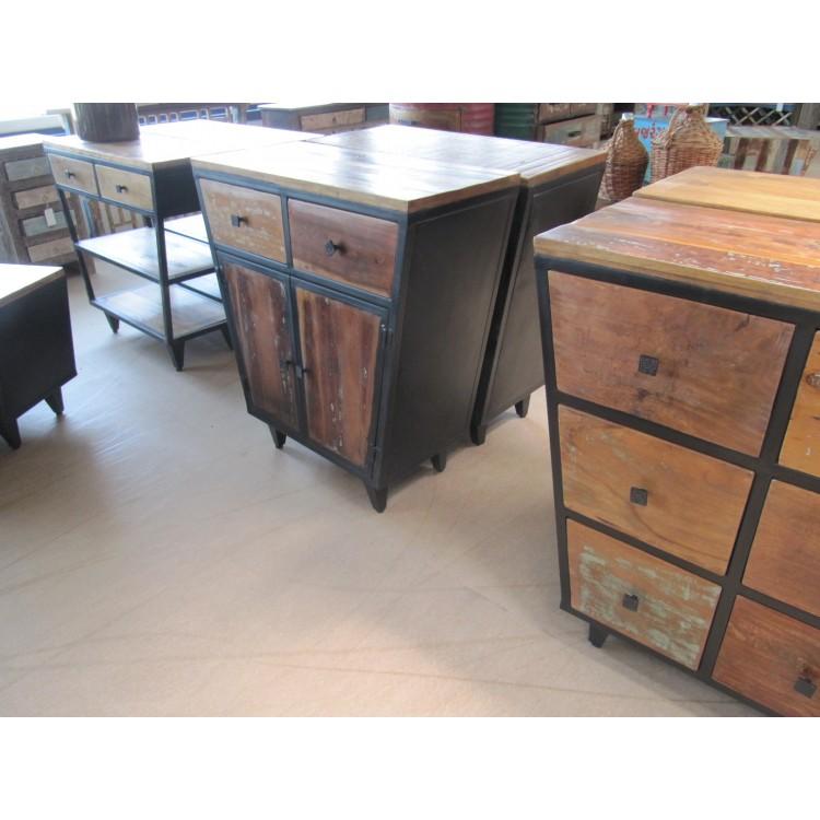 Goede Industriële vintage meubels KG-51