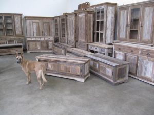 schabby chic teak meubelen